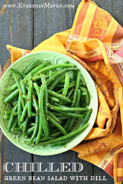 Chilled Green Bean Salad with Dill