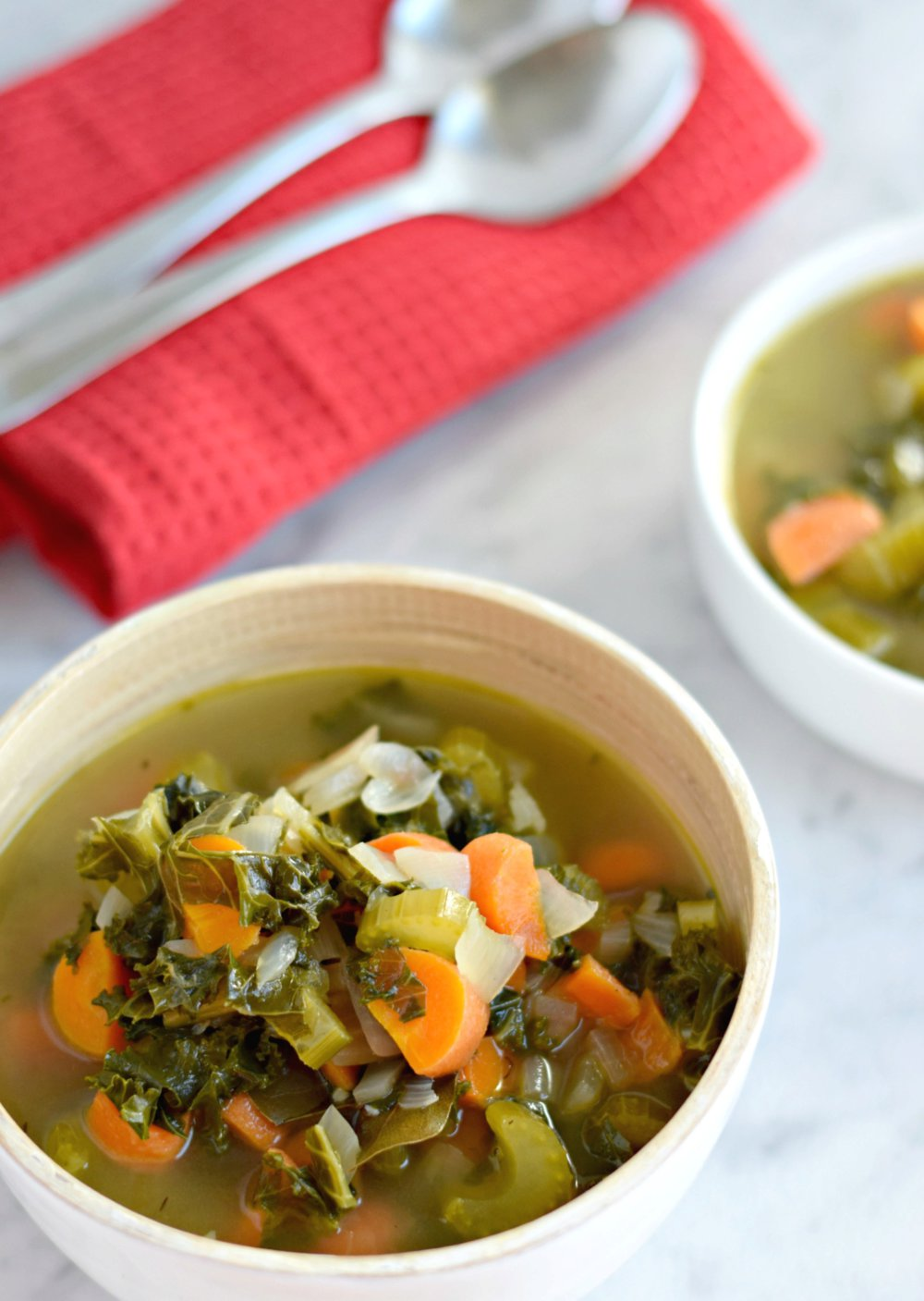 Winter Kale Vegetable Soup