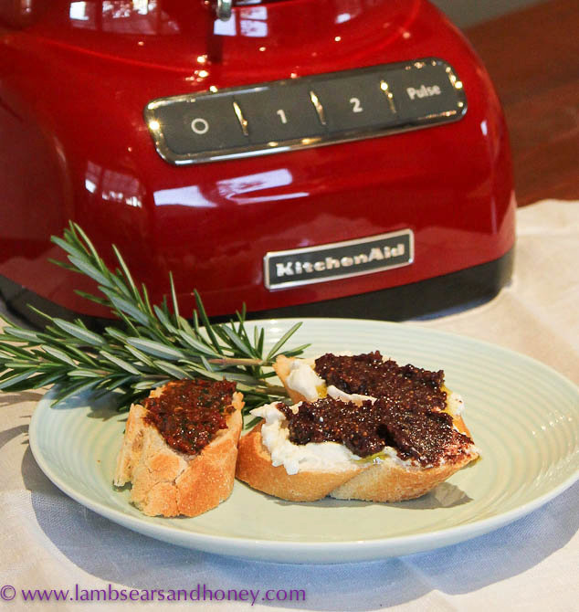 Fig & Olive Tapenade or Sundried Tomato Tapenade - The Perfect Home-Made Christmas Gift
