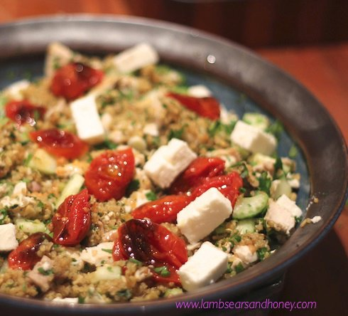 Cheats Persian Chicken & Quinoa Salad