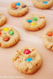 Soft Monster Cookies