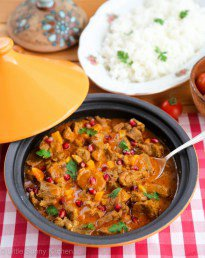 Lamb Tagine with Pomegranate