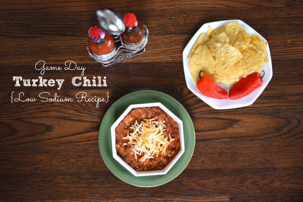 Semi-Homemade Low Sodium Turkey Chili