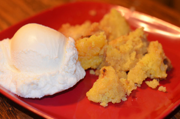Lemon Cake Dessert Crockpot Recipe
