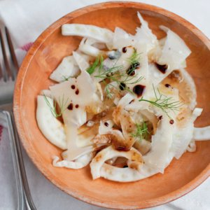 Shaved Fennel Salad with Parmigiano-Reggiano and Balsamico