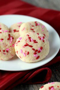 3-Ingredient Cake Batter Confetti Cookies