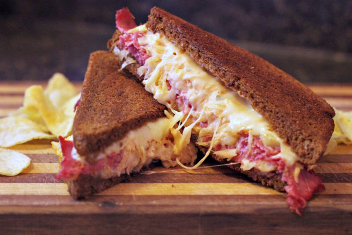 Grilled Reuben Sandwiches with Homemade Dressing