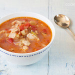 Manhattan Clam Chowder in 15 Minutes