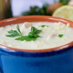 Avgolemono Soup (Greek Lemon Soup)
