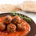 Meatball Recipe with Farro and Rosemary