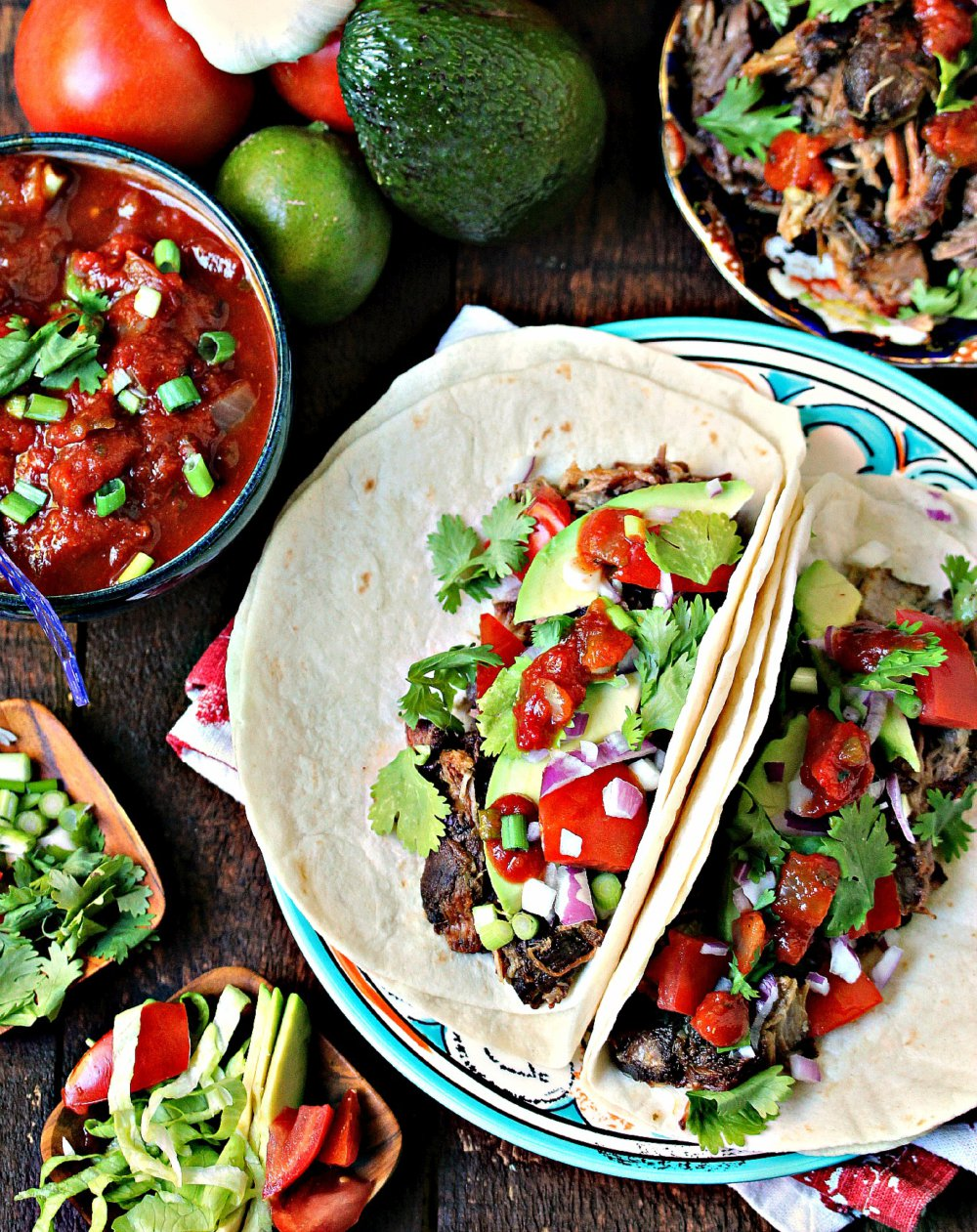 Sweet and Spicy Slow Cooker Carnitas