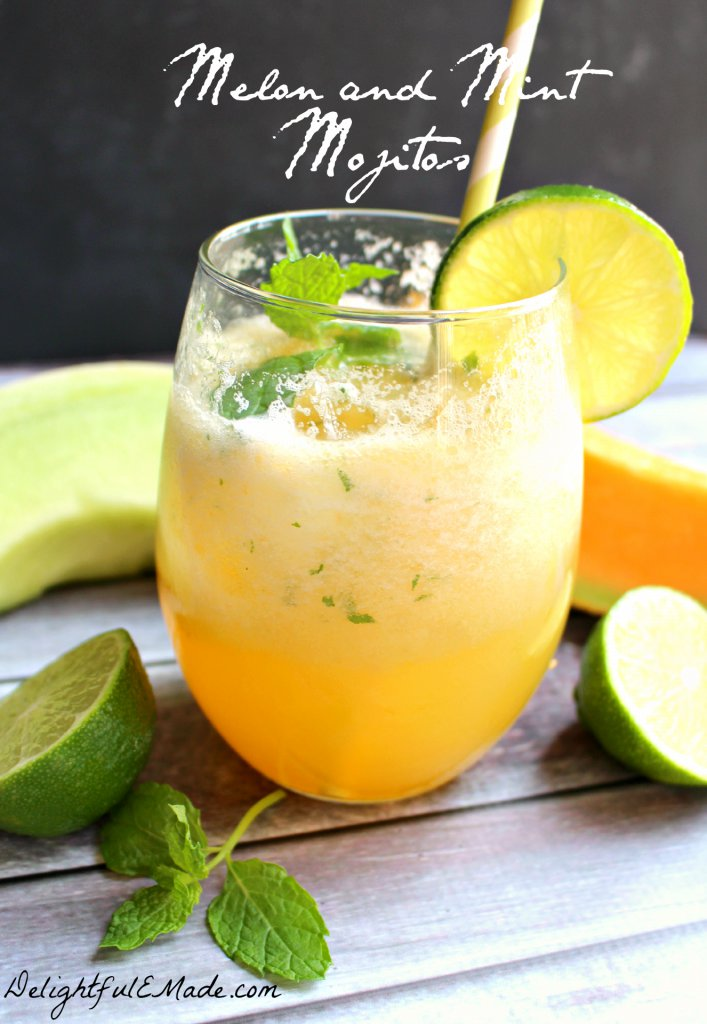 Melon and Mint Mojiots