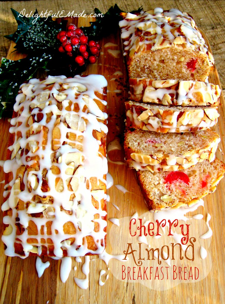 Cherry Almond Breakfast Bread