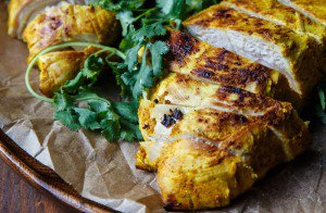A Small Thanksgiving: Indian-Spiced Turkey Breast