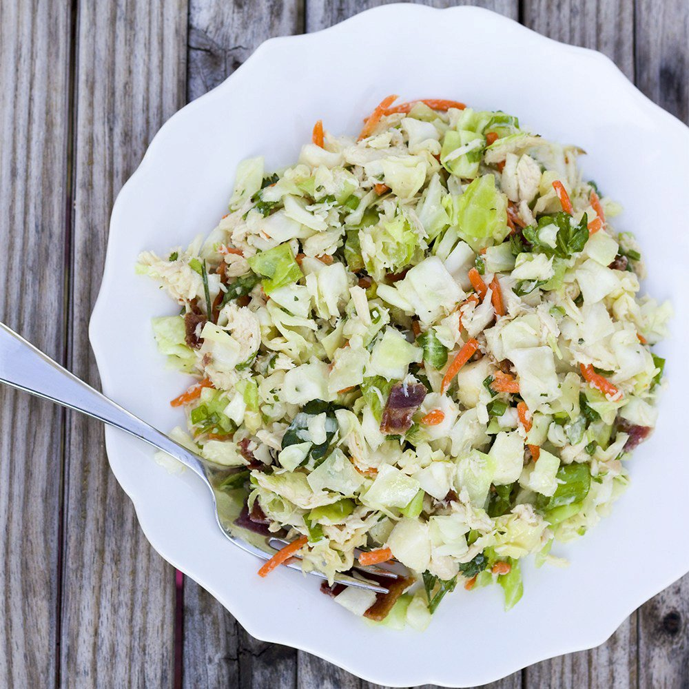 Paleo Chopped Chicken Salad with Honey-Lime Dressing (AIP-friendly)