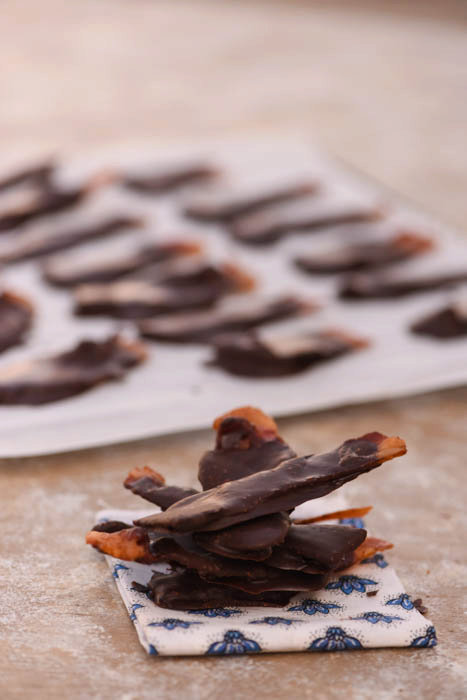 Healthy Chocolate Covered Bacon