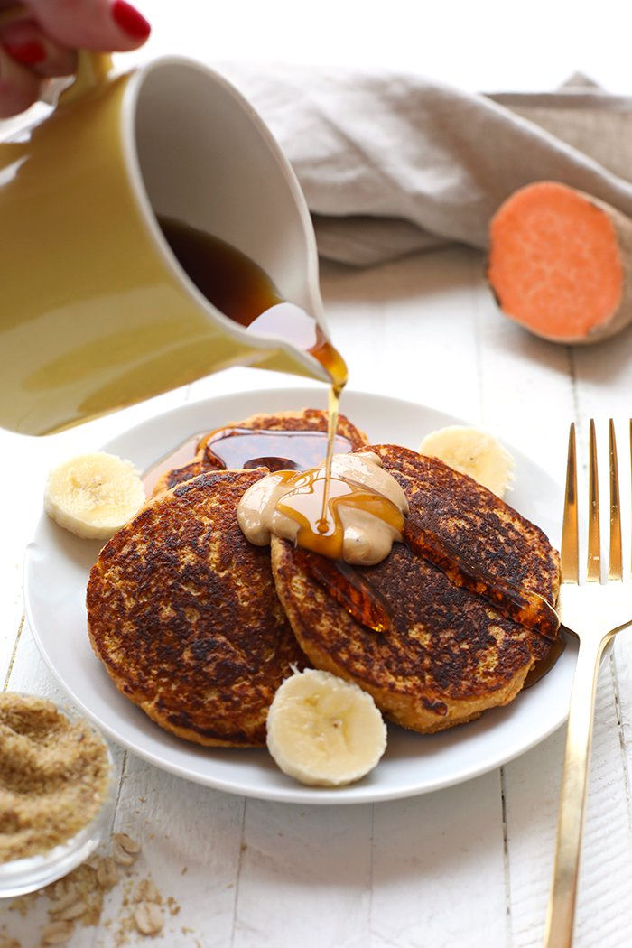 VIDEO: Sweet Potato Power Pancakes