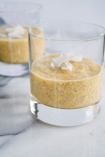 Tropical Mango Chia Pudding