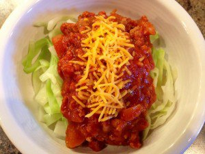 Jen's Spaghetti Cabbage ~ S or E (if using 96% lean ground turkey or chicken)