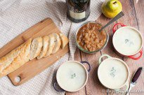 Pate with Spiced Pears