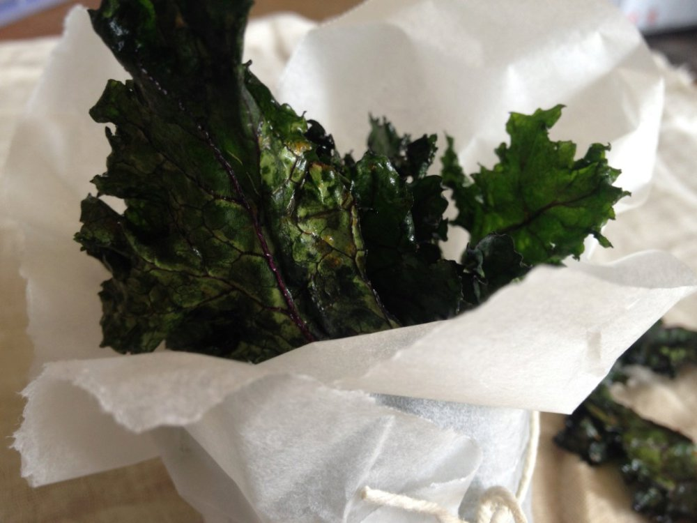Tangy Kale Chips