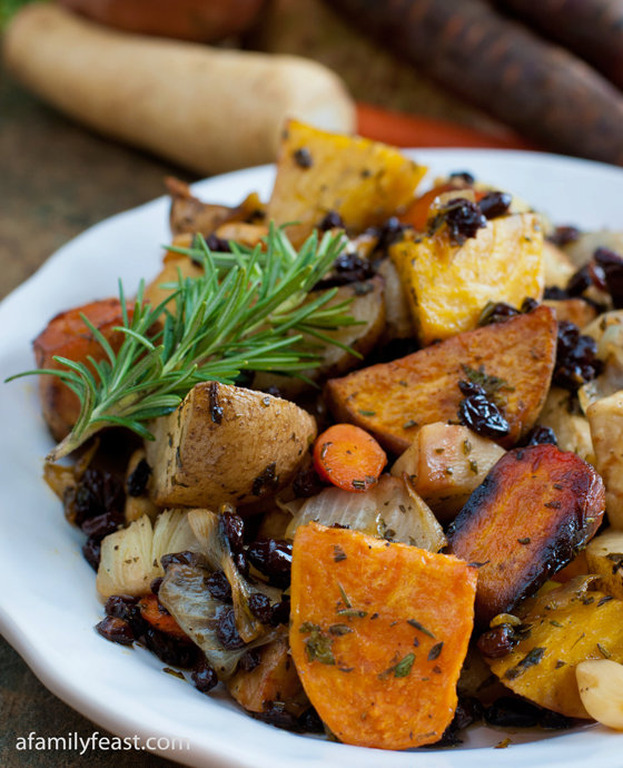 Dinner Party Series – Part 2: Roasted Root Vegetables