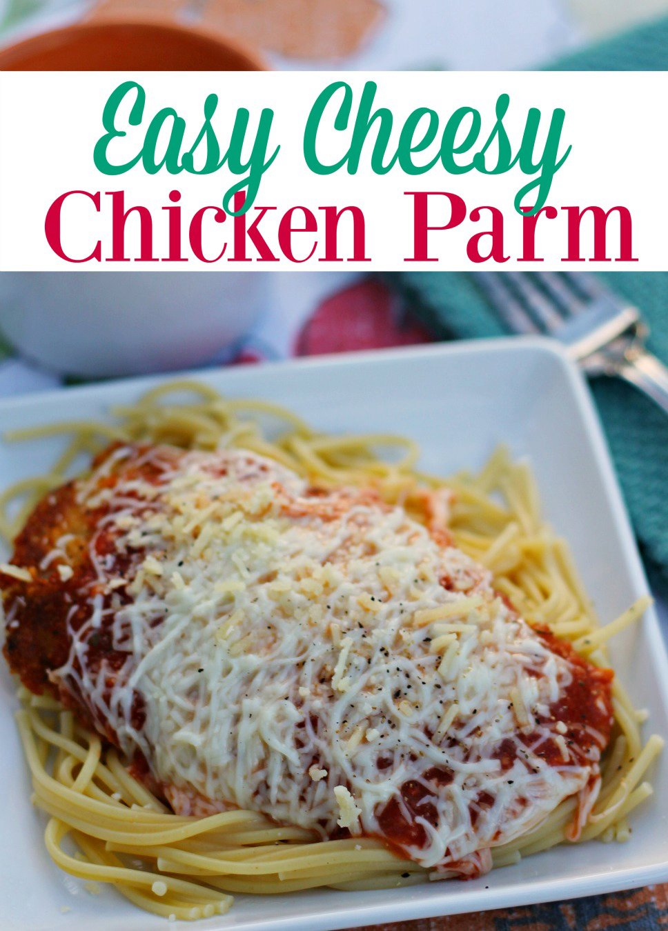 Chicken Parm you Taste so Good