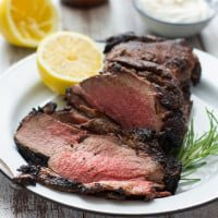 Mediterranean Grilled Lamb with Pale Ale Glaze