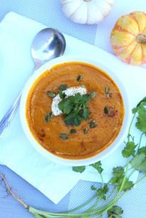 Pumpkin Carrot and Ginger Soup
