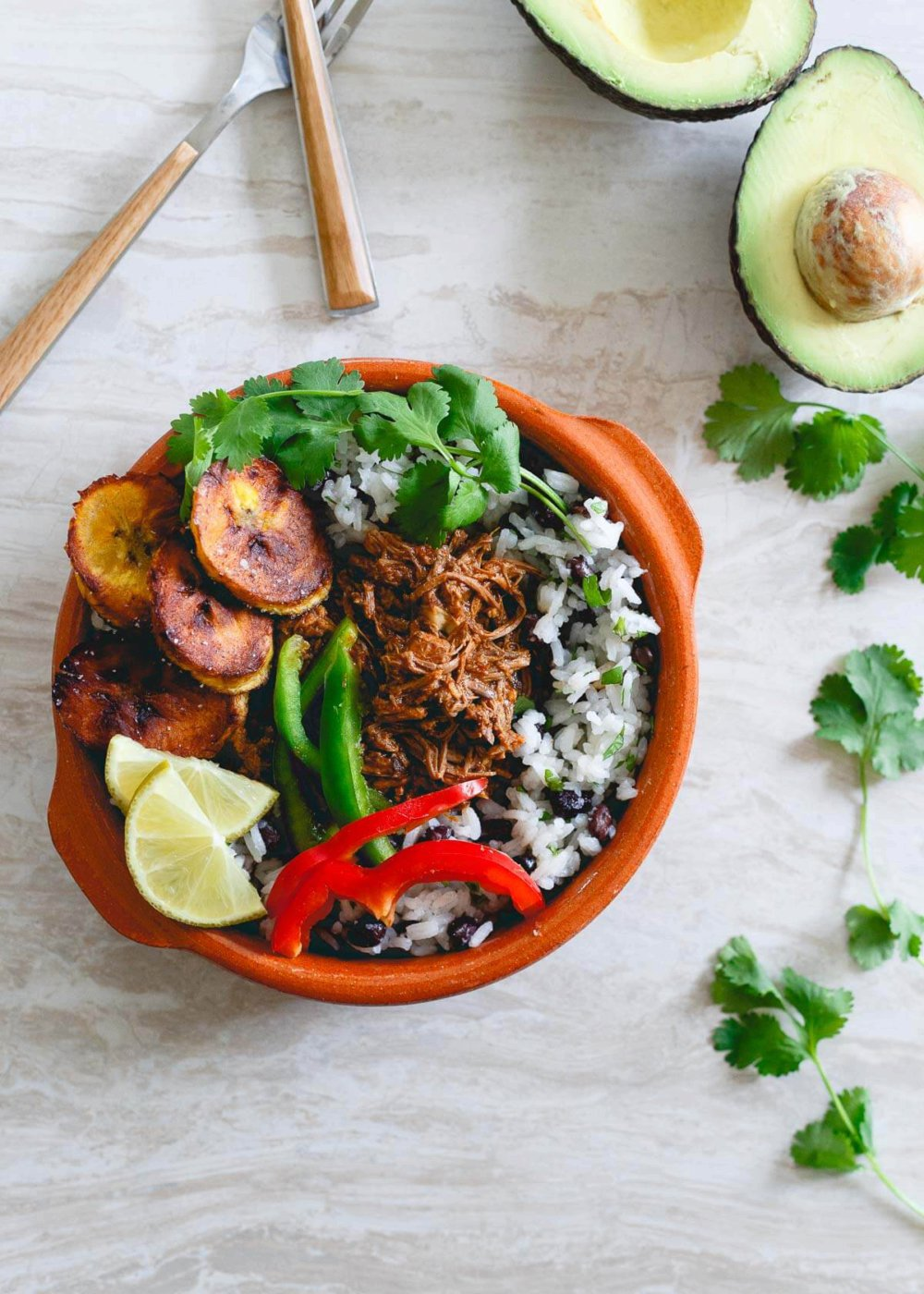 Mexican Shredded Beef Bowls