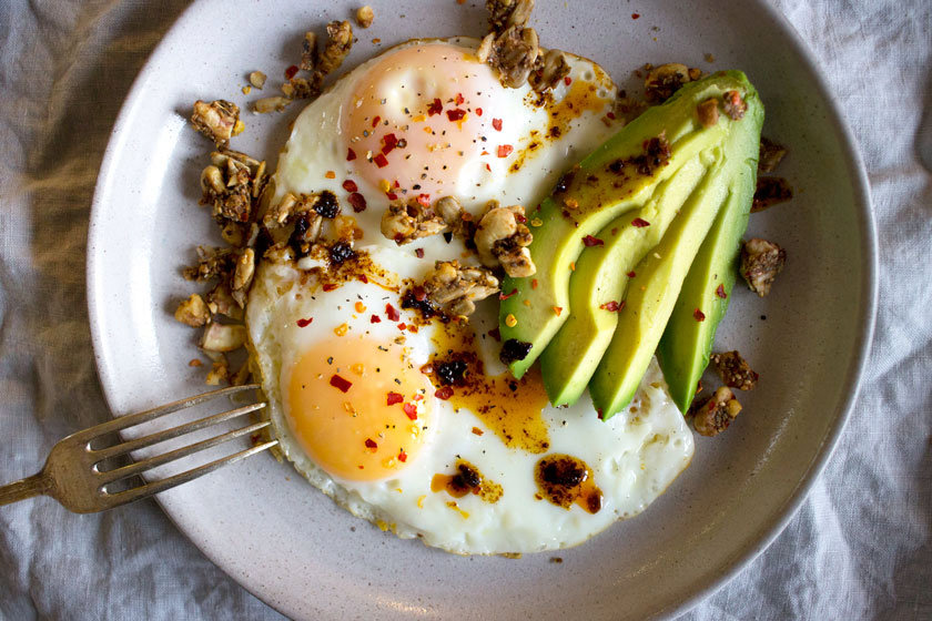 My Go-to 5 Minute High Protein Breakfast