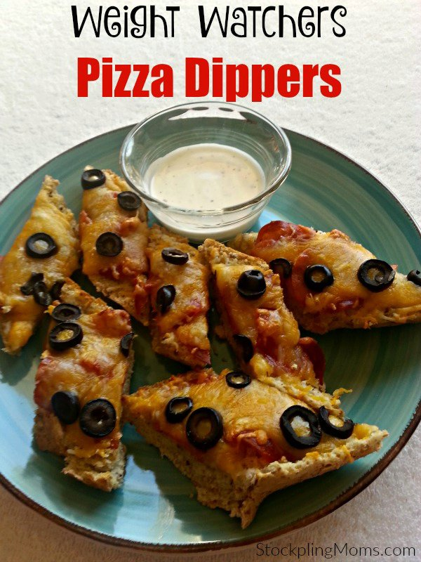 Weight Watchers Pizza Dippers