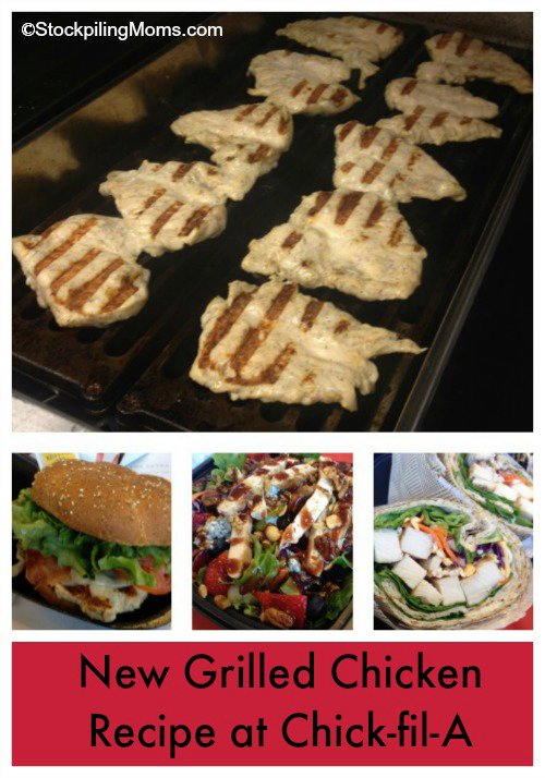 Copycate Chick-fil-A Grilled Chicken Recipe