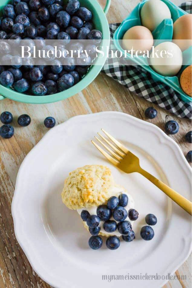 Blueberry Shortcakes: The Perfect Summer Dessert
