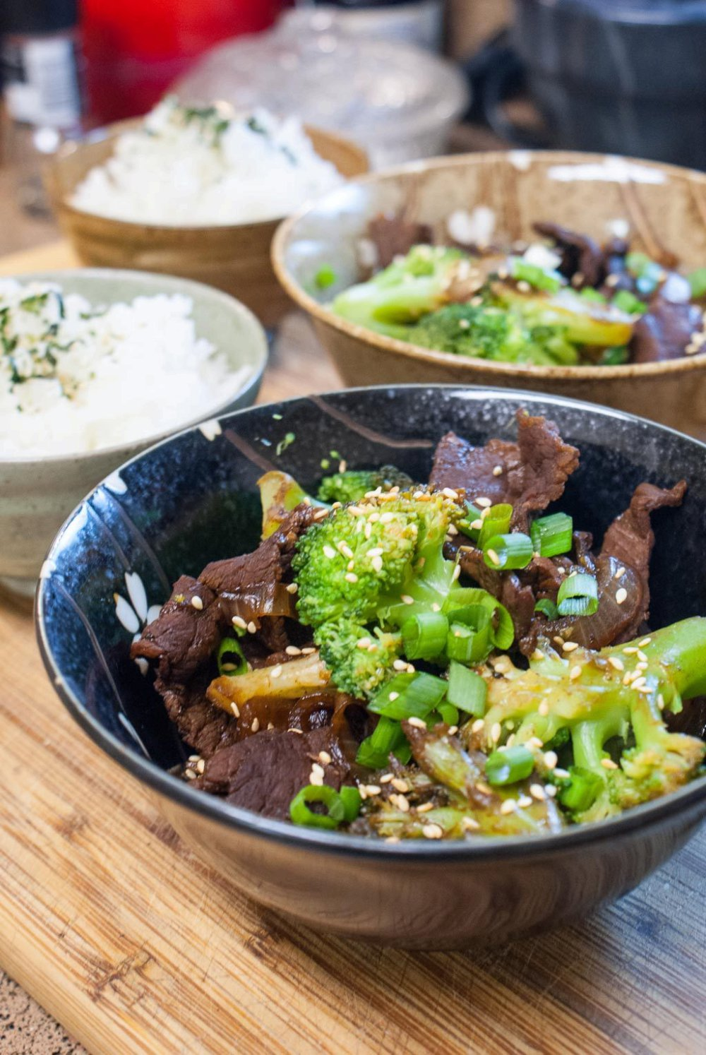 Broccoli Beef - A Japanese Twist on a Chinese Takeout Classic