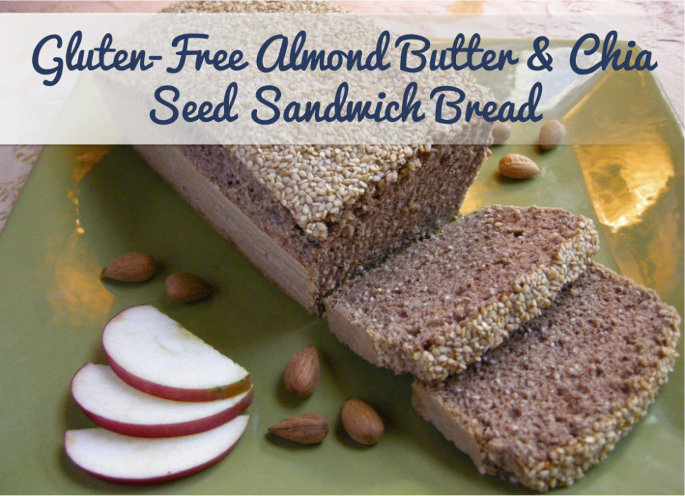Almond Butter Sandwich Bread