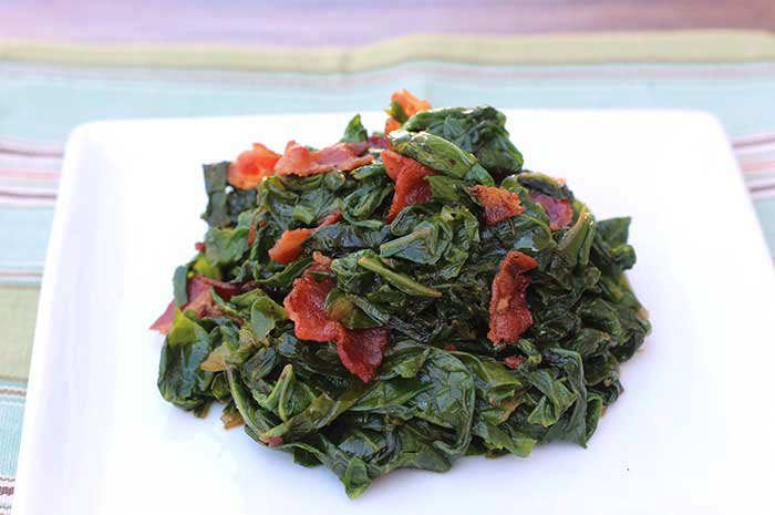 Chinese Cabbage with Bacon