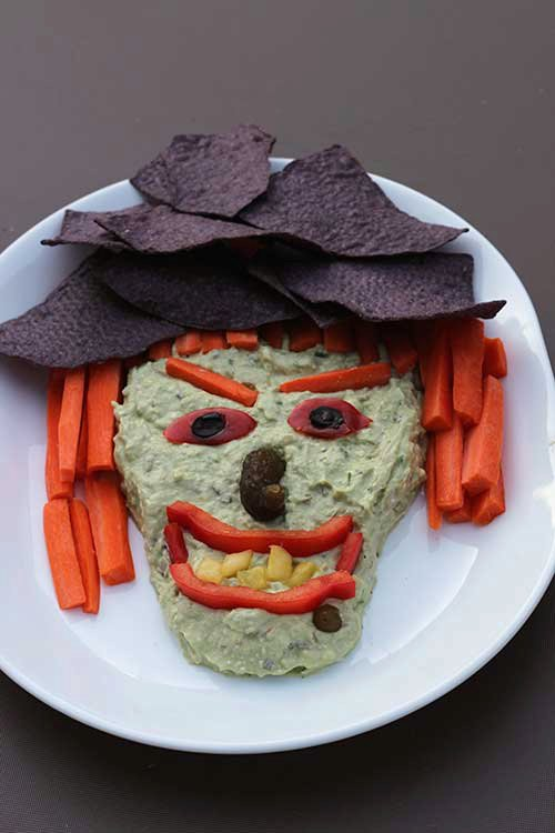 Witchy Guacamole Dip