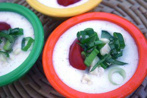 Chilled Cucumber and Summer Vegetable Soup