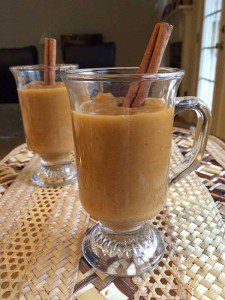 Butternut Squash Soup with Apples and Carrots