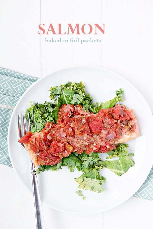 Simple Salmon Baked in Foil Packets Recipe