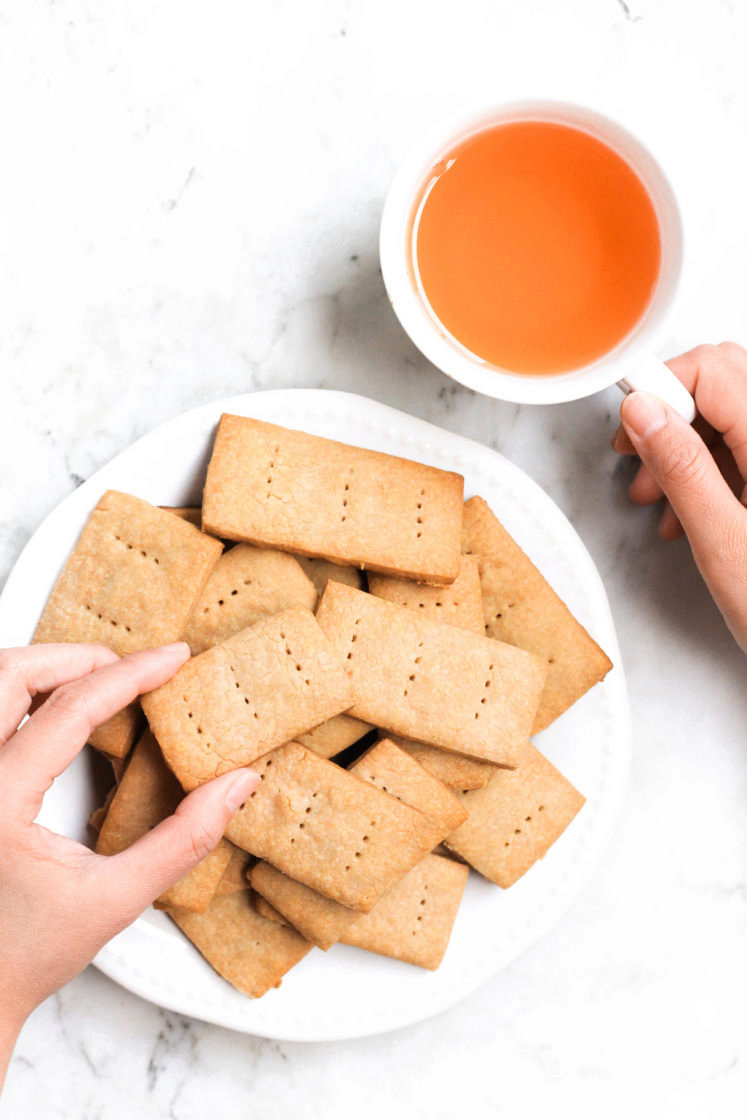 Sorghum Graham Crackers (Gluten-free, Vegan)
