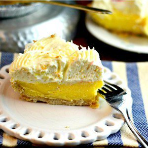 Coconut Cream Pie #SundaySupper