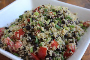 Southwestern Quinoa and Black Beans