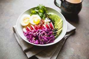 Quick Pickled Ginger Red Cabbage