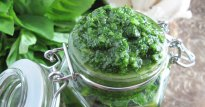 Mint Basil Pesto from Simple French Paleo (AIP)