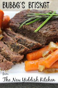 Bubbe's Brisket from The New Yiddish Kitchen