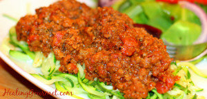 Superfood Paleo Bolognese Recipe