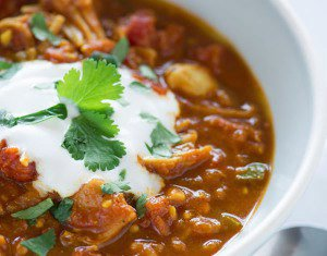 Joni Newman's Indian-Spiced Chili