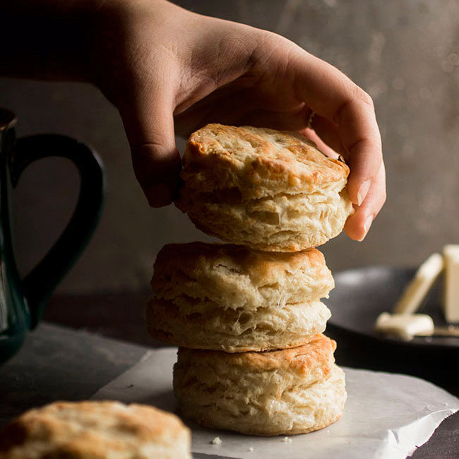 Simple Gruyere Biscuits